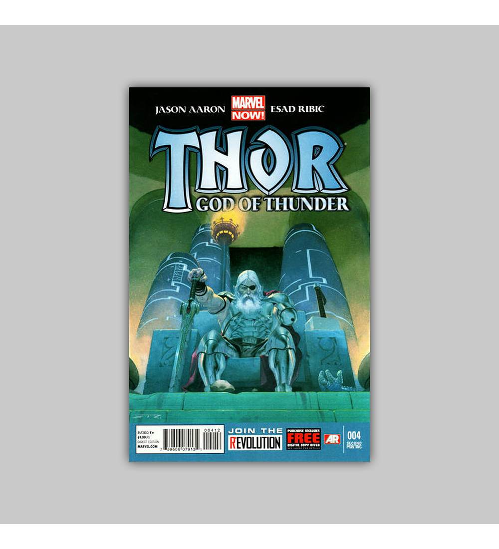 Thor: God of Thunder 4 2nd printing 2013