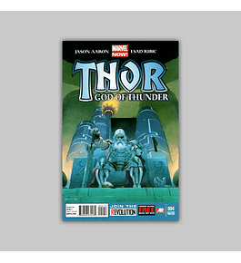 Thor: God of Thunder 4 2nd printing 2013