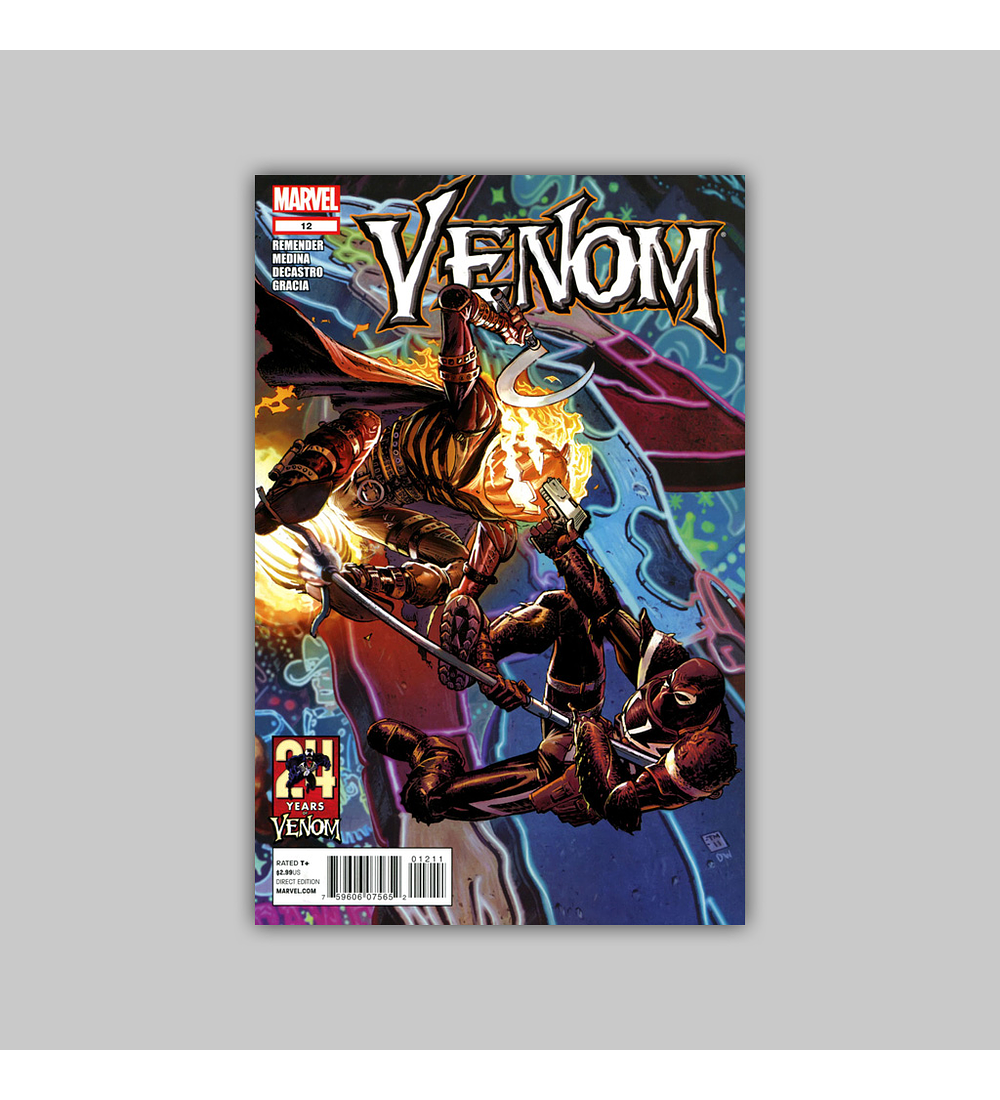 Venom (Vol. 2) 12 2012