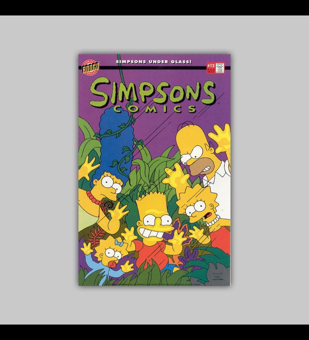 Simpsons Comics 12 1995