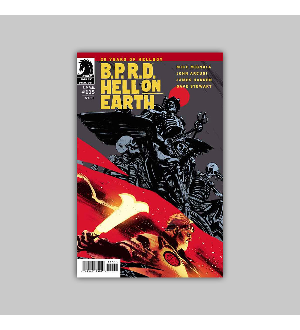 BPRD: Hell on Earth 115 2014