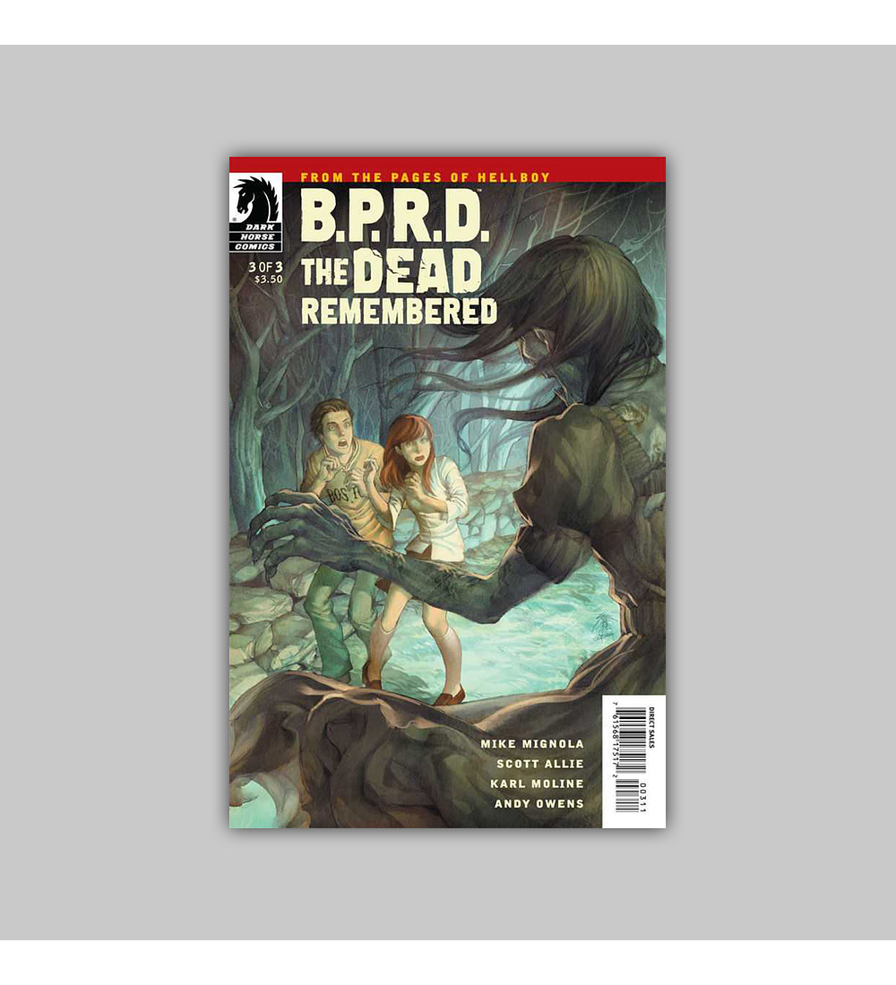 BPRD: The Dead Remembered 3 2011