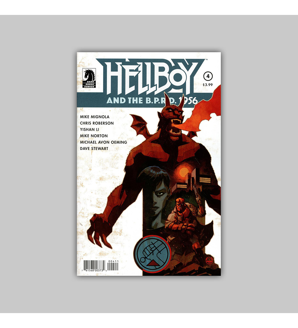 Hellboy and the BPRD: 1956 4 2019