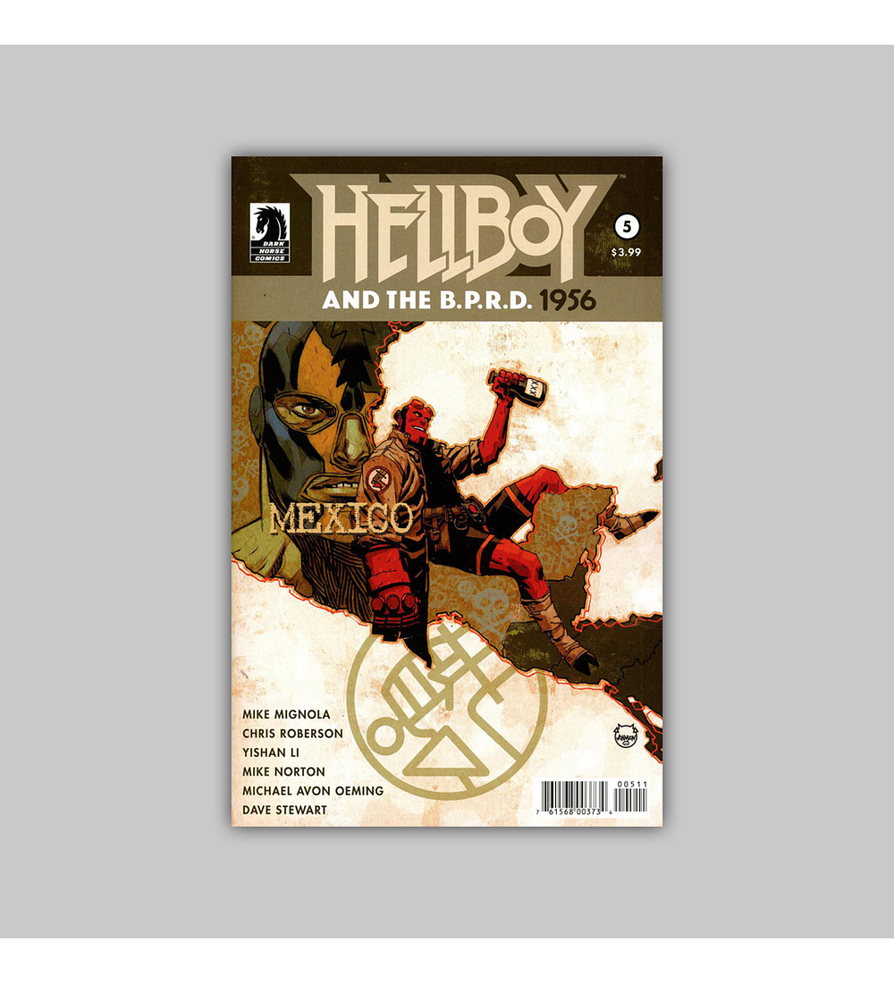 Hellboy and the BPRD: 1956 5 2019