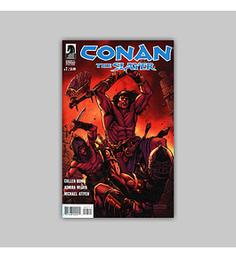 Conan the Slayer 7 2017