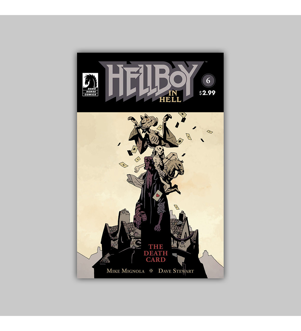 Hellboy in Hell 6 2014