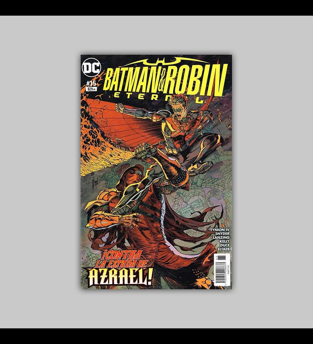 Batman and Robin: Eternal 15 2016