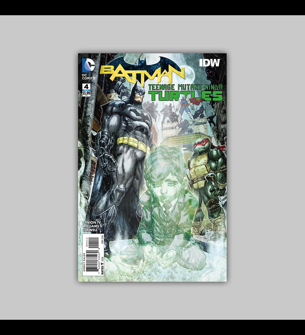 Batman/Teenage Mutant Ninja Turtles 4 2016