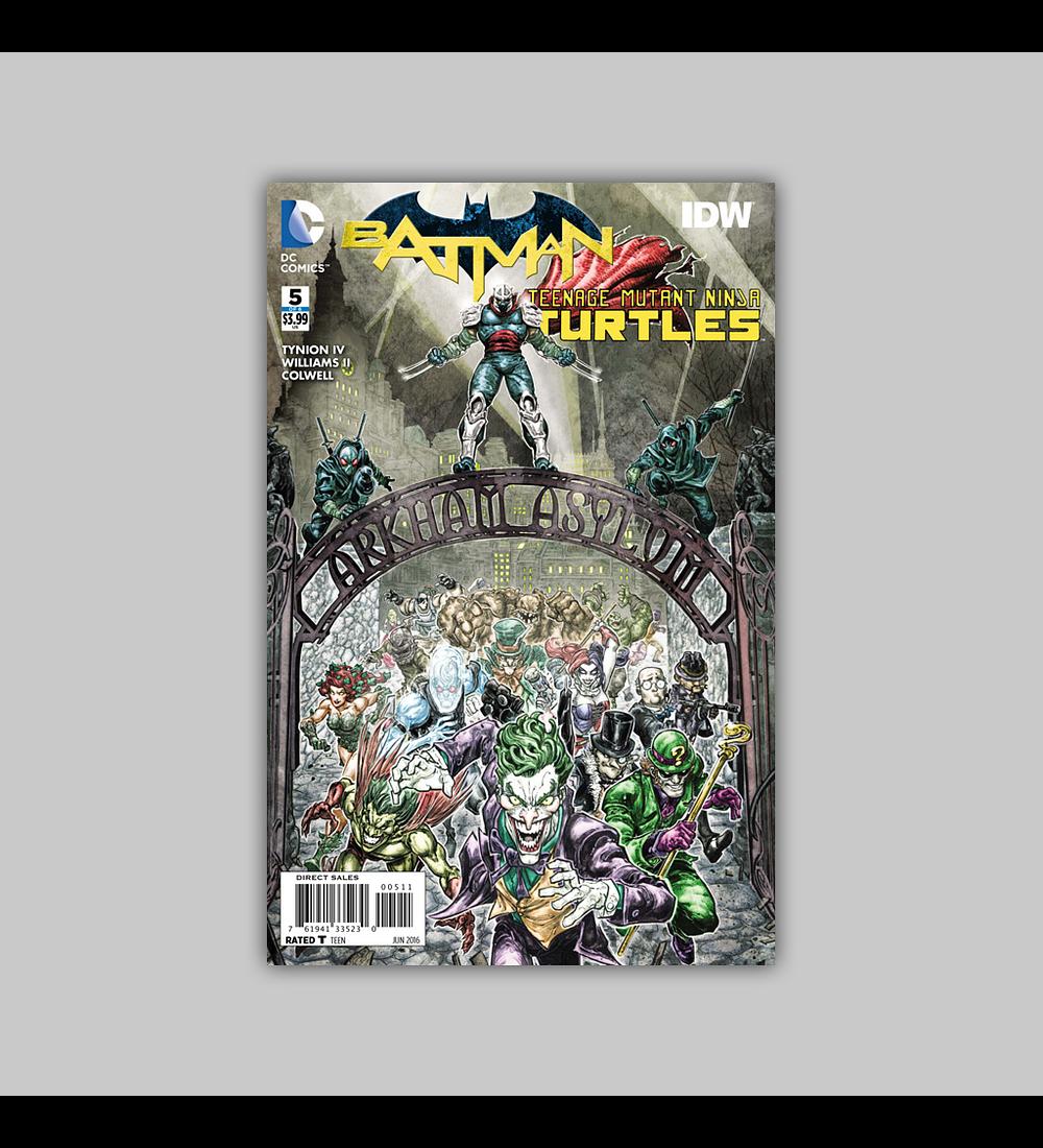Batman/Teenage Mutant Ninja Turtles 5 2016