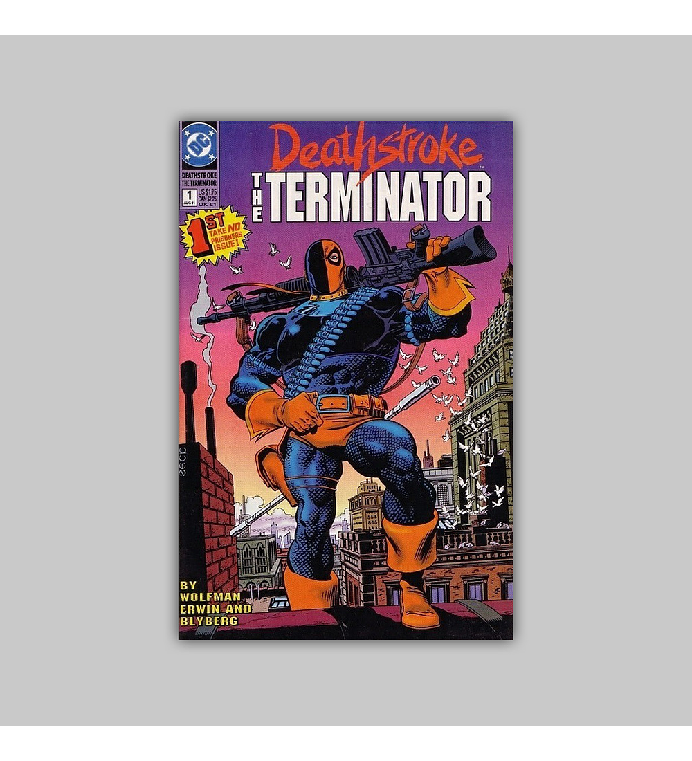 Deathstroke the Terminator 1 1991