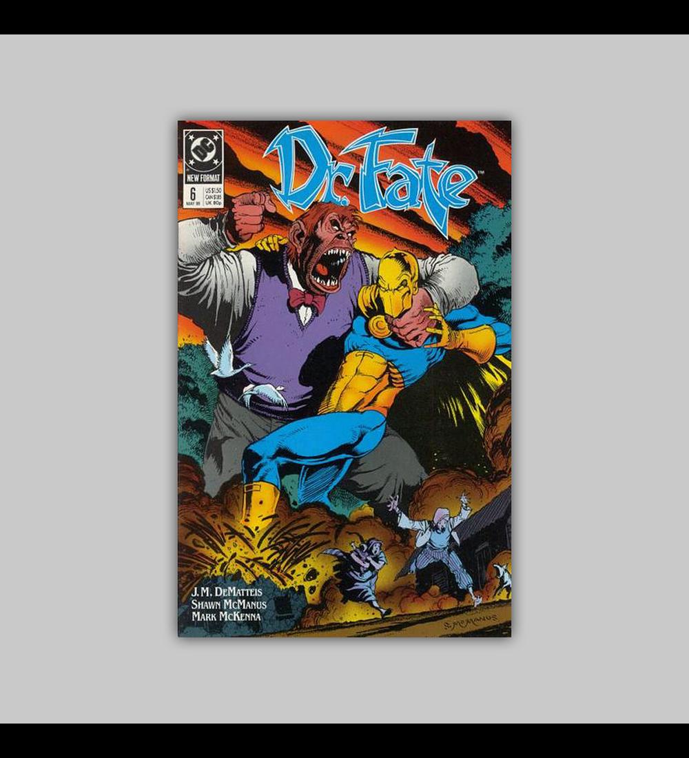 Dr. Fate 6 1989