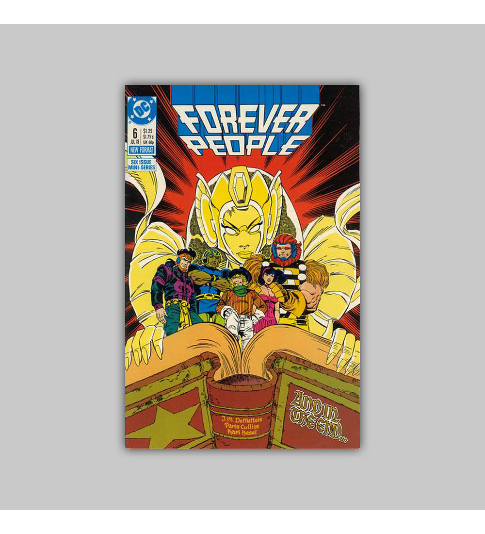 Forever People (complete limited series) 1988