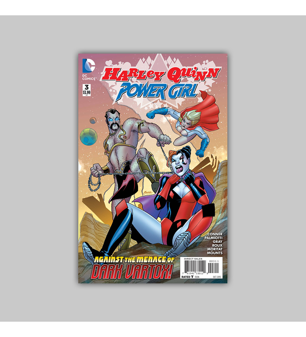 Harley Quinn and Power Girl 3 2015