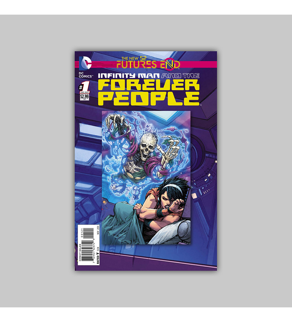 Infinity Man and the Forever People: Future's End 1 2014