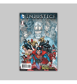 Injustice: Gods Among Us Year Four 1 2015