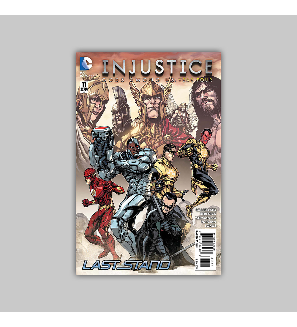 Injustice: Gods Among Us Year Four 11 2015