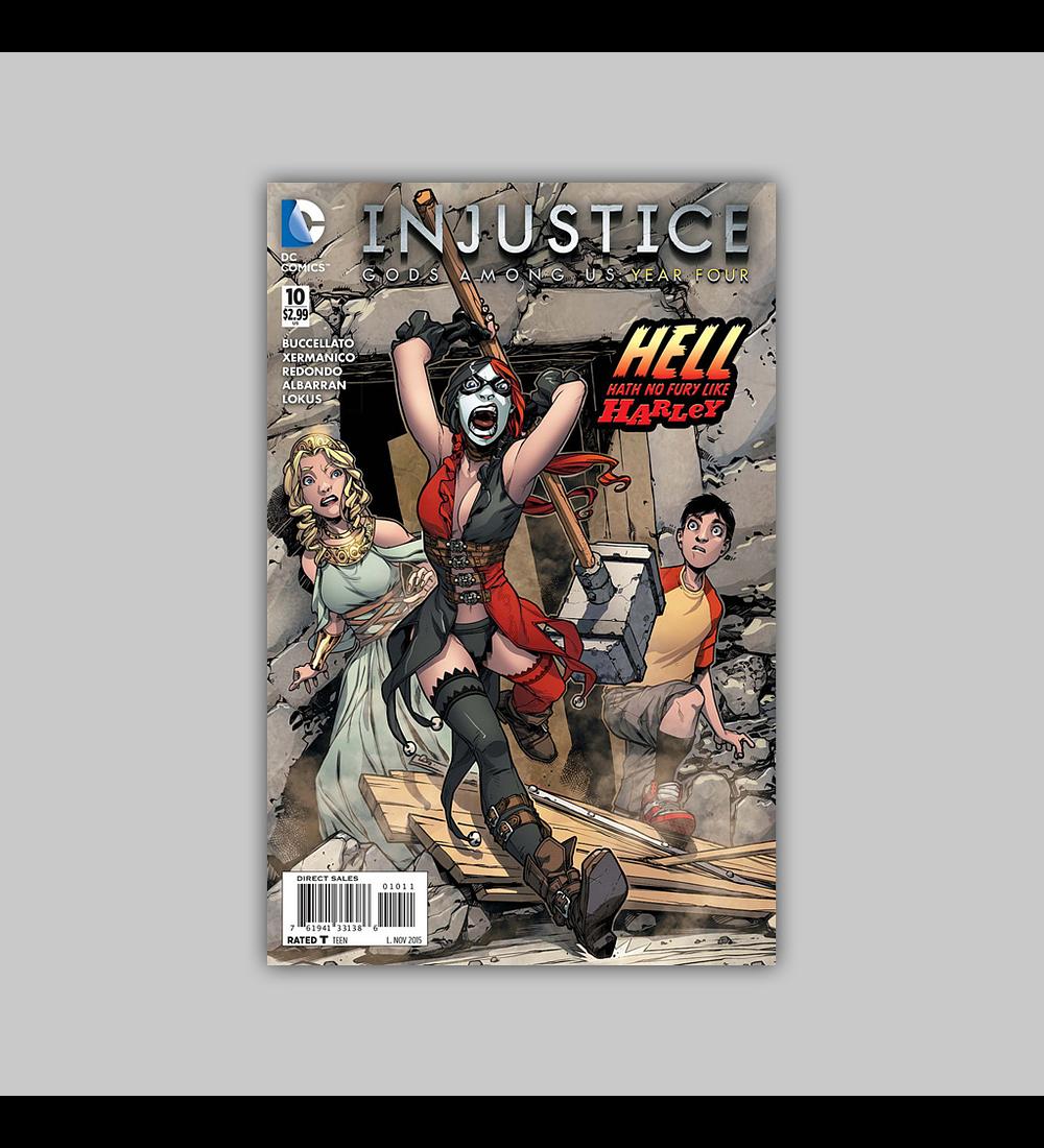 Injustice: Gods Among Us Year Four 10 2015
