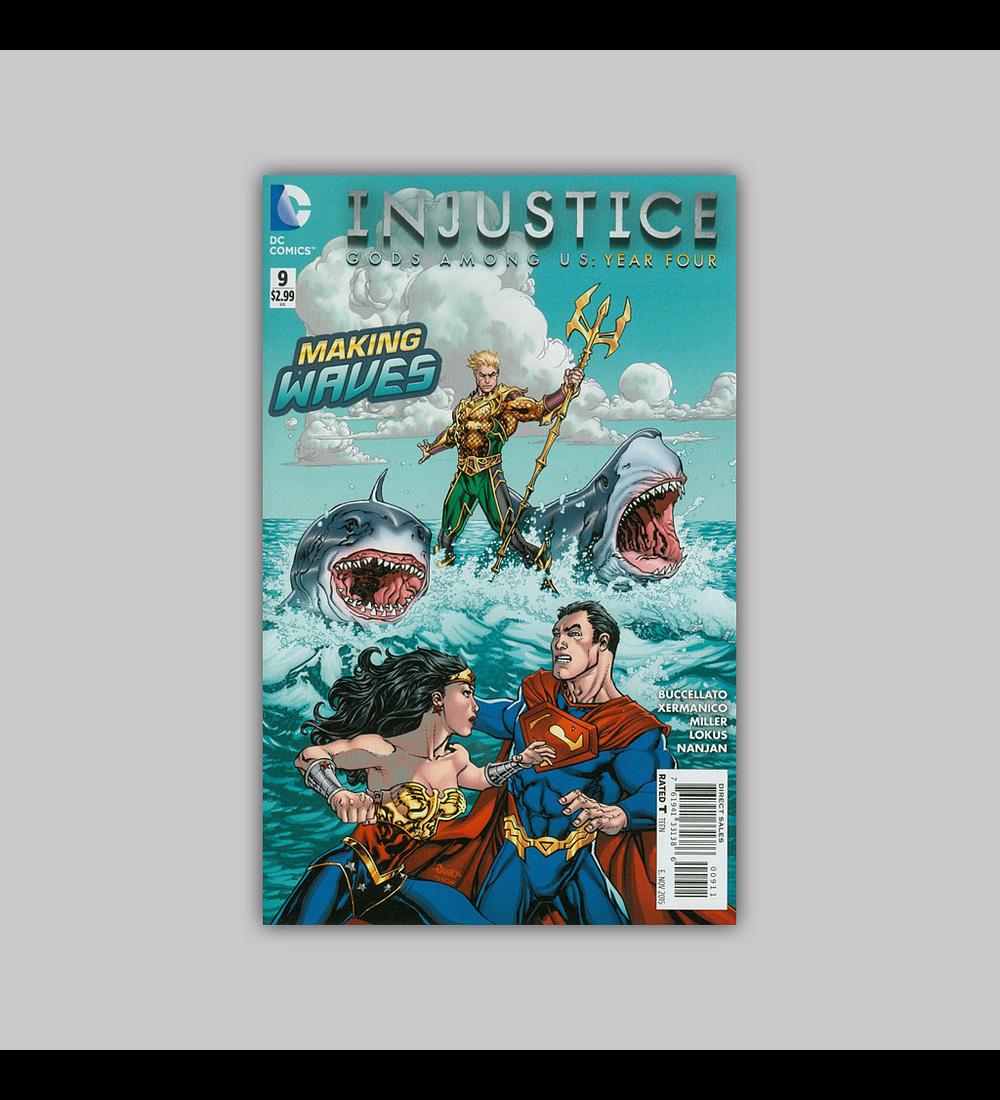 Injustice: Gods Among Us Year Four 9 2015