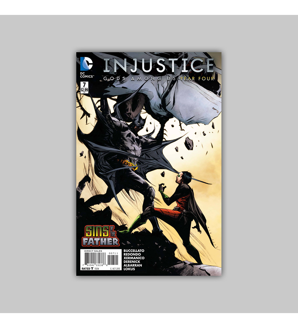 Injustice: Gods Among Us Year Four 7 2015