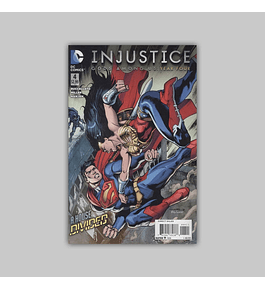 Injustice: Gods Among Us Year Four 4 2015