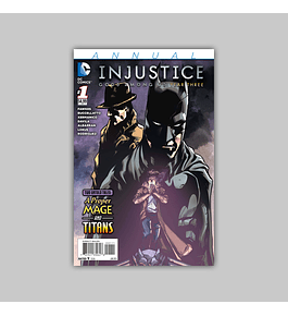 Injustice: Gods Among Us Year Three Annual 1 2015