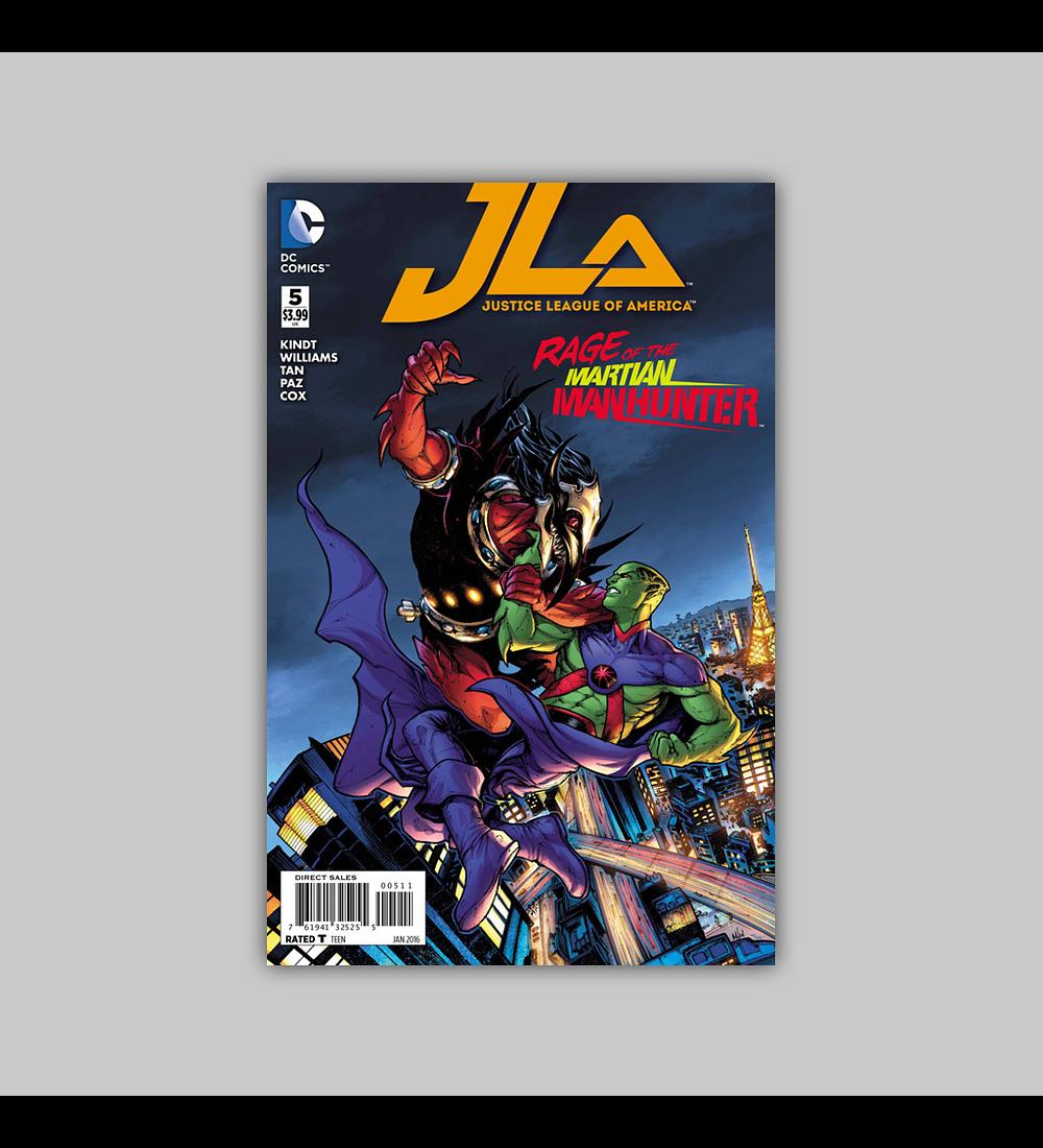 Justice League of America 5 2016