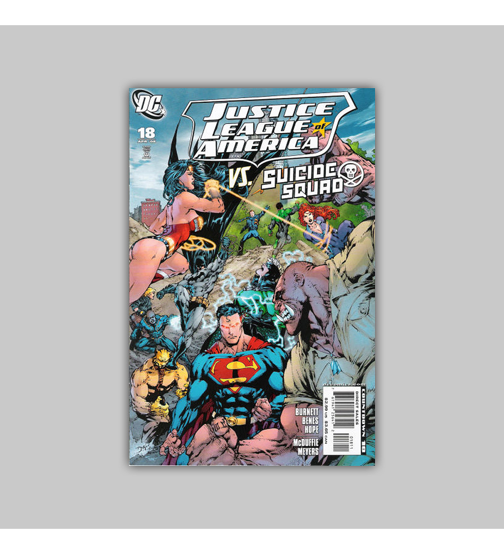 Justice League of America 18 2008