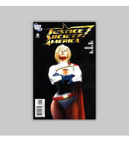 Justice Society of America (Vol. 2) 9 2007