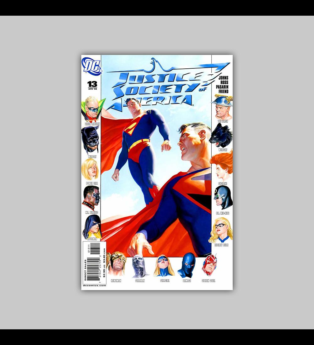 Justice Society of America (Vol. 2) 13 2008