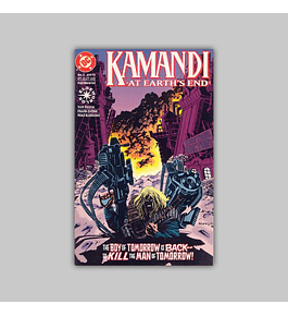 Kamandi: At Earth's End (complete limited series) 1993