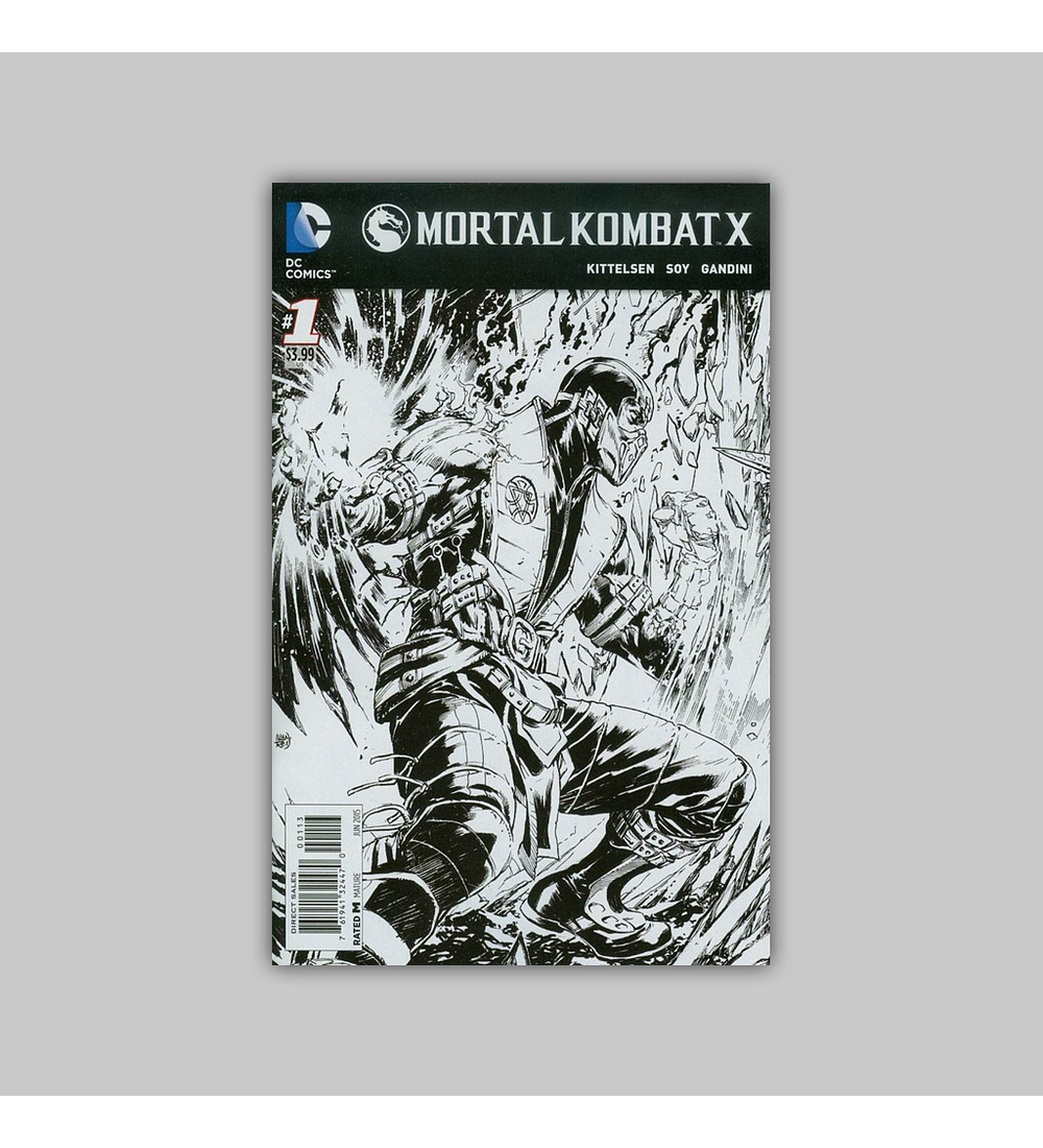 Mortal Kombat X 1 C NM/VF (9.0) 2015