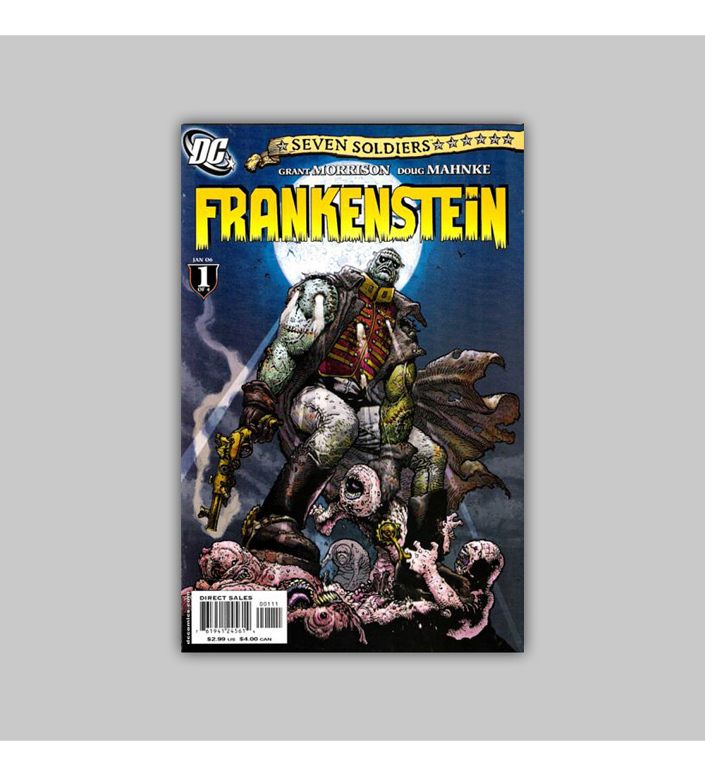 Seven Soldiers: Frankenstein (complete limited series) 2006