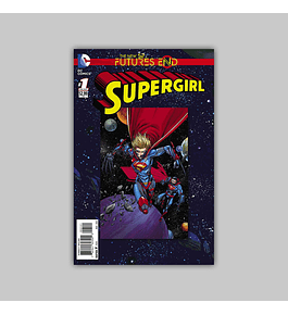 Supergirl: Future's End 1 3D Motion 2014