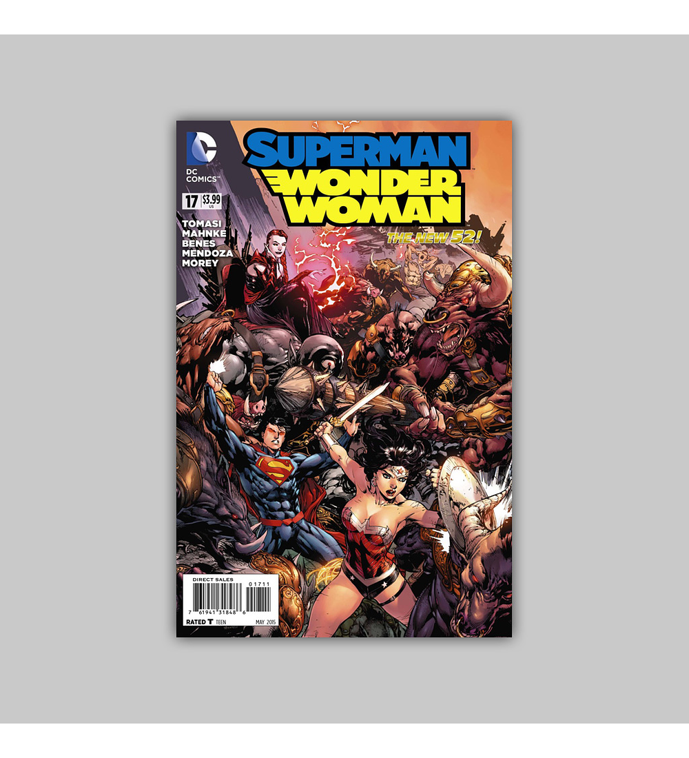 Superman/Wonder Woman 17 2015