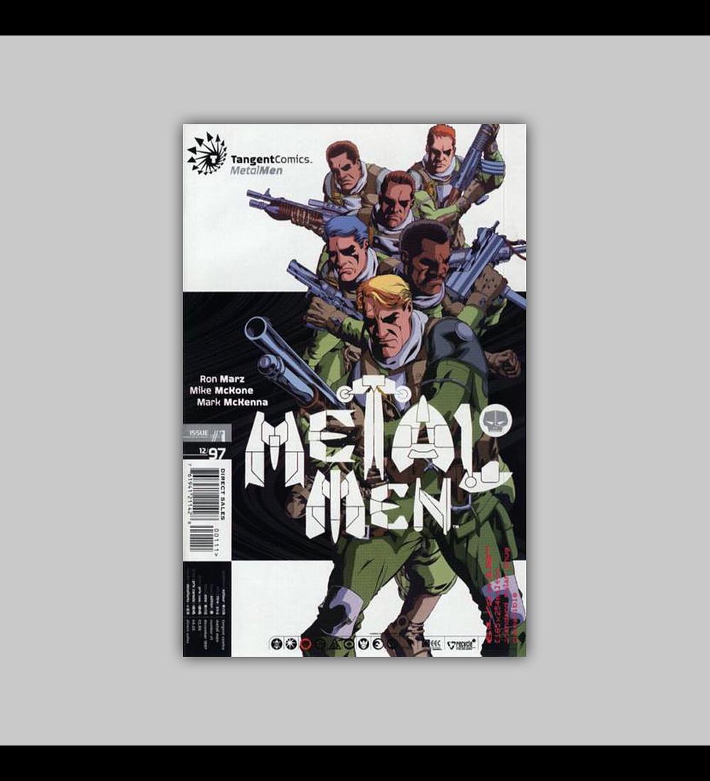 Tangent Comics: Metal Men 1 1997