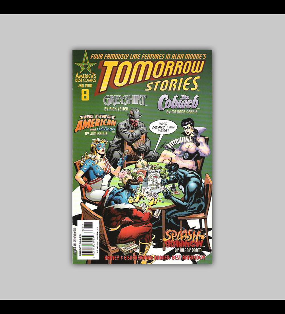 Tomorrow Stories 8 2001