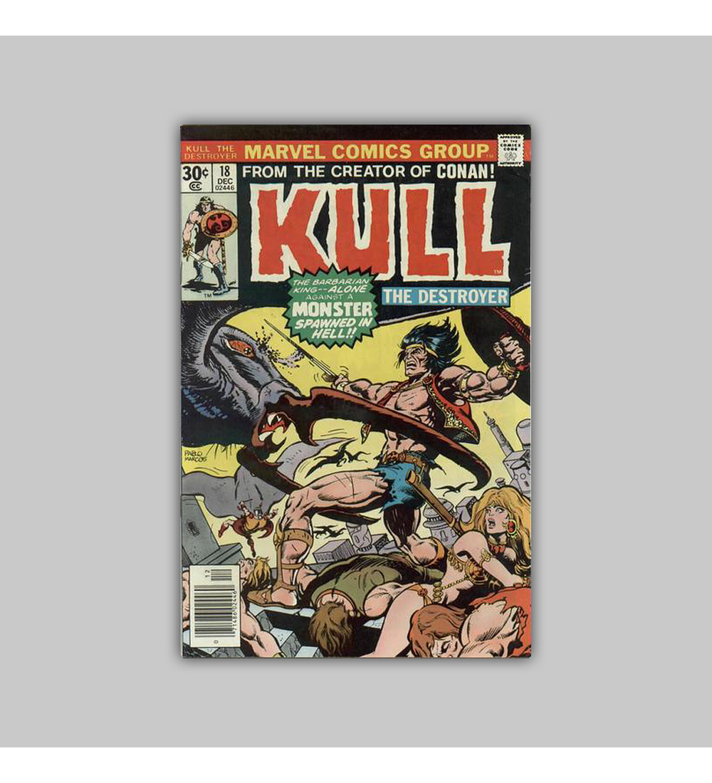 Kull the Destroyer 18 VF/NM (9.0) 1976