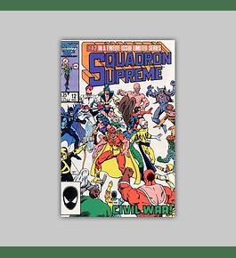 Squadron Supreme 12 1986