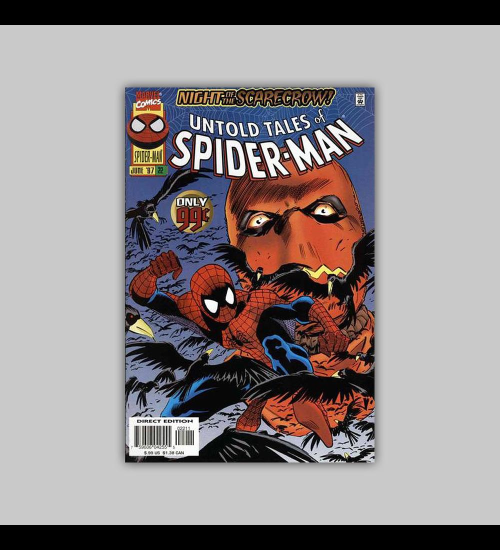 Untold Tales of Spider-Man 22 1997