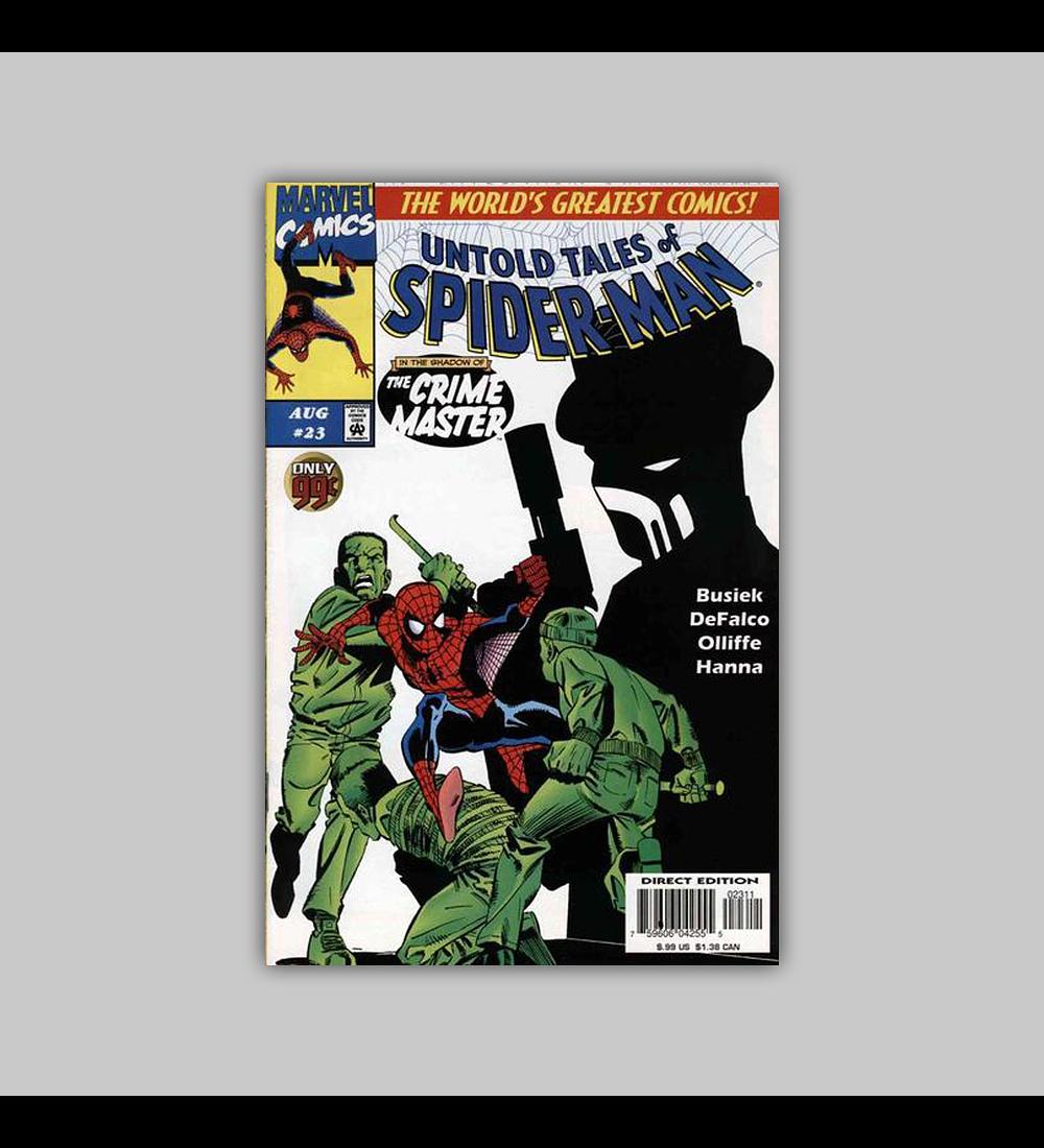 Untold Tales of Spider-Man 23 1997