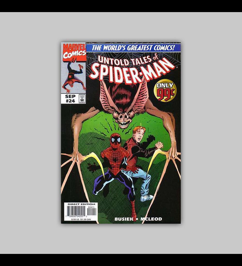 Untold Tales of Spider-Man 24 1997