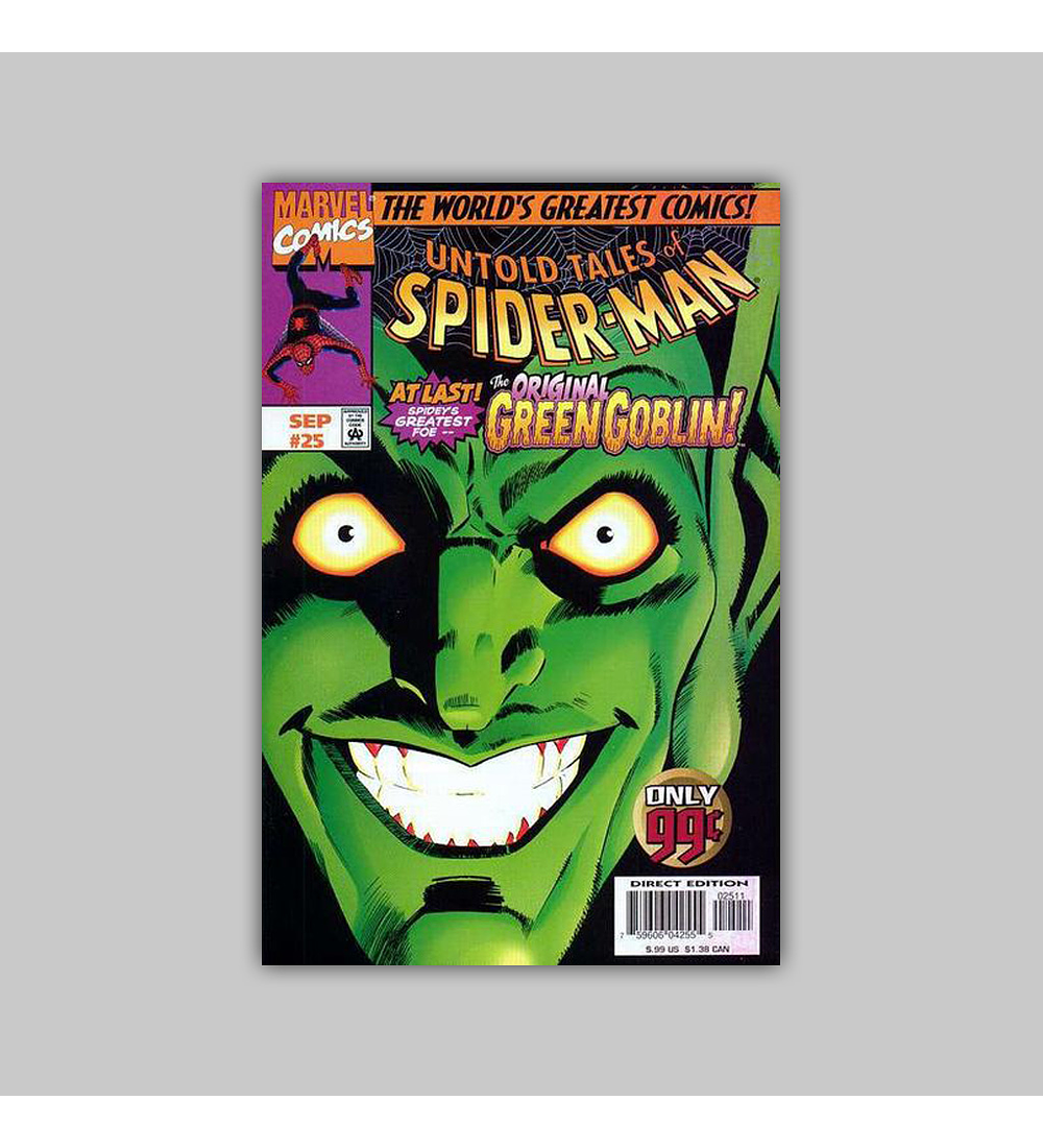 Untold Tales of Spider-Man 25 1997