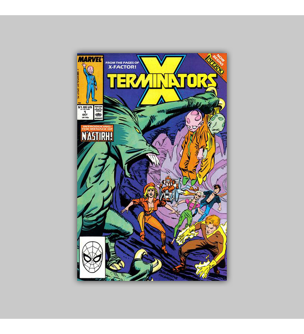 X-Terminators 1 VF (8.0) 1988