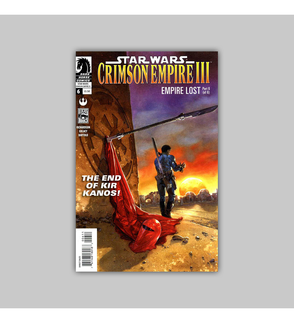 Star Wars: Crimson Empire III - Empire Lost 6 2012