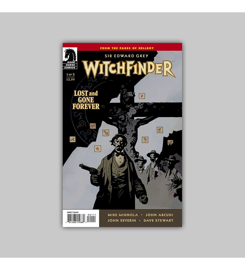 Witchfinder: Lost and Gone Forever 1 2011