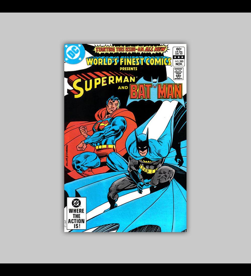 World's Finest Comics 285 VF/NM (9.0) 1982