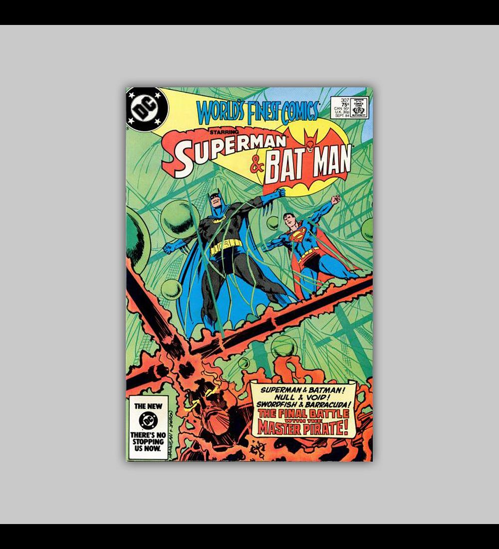 World's Finest Comics 307 VF/NM (9.0) 1984