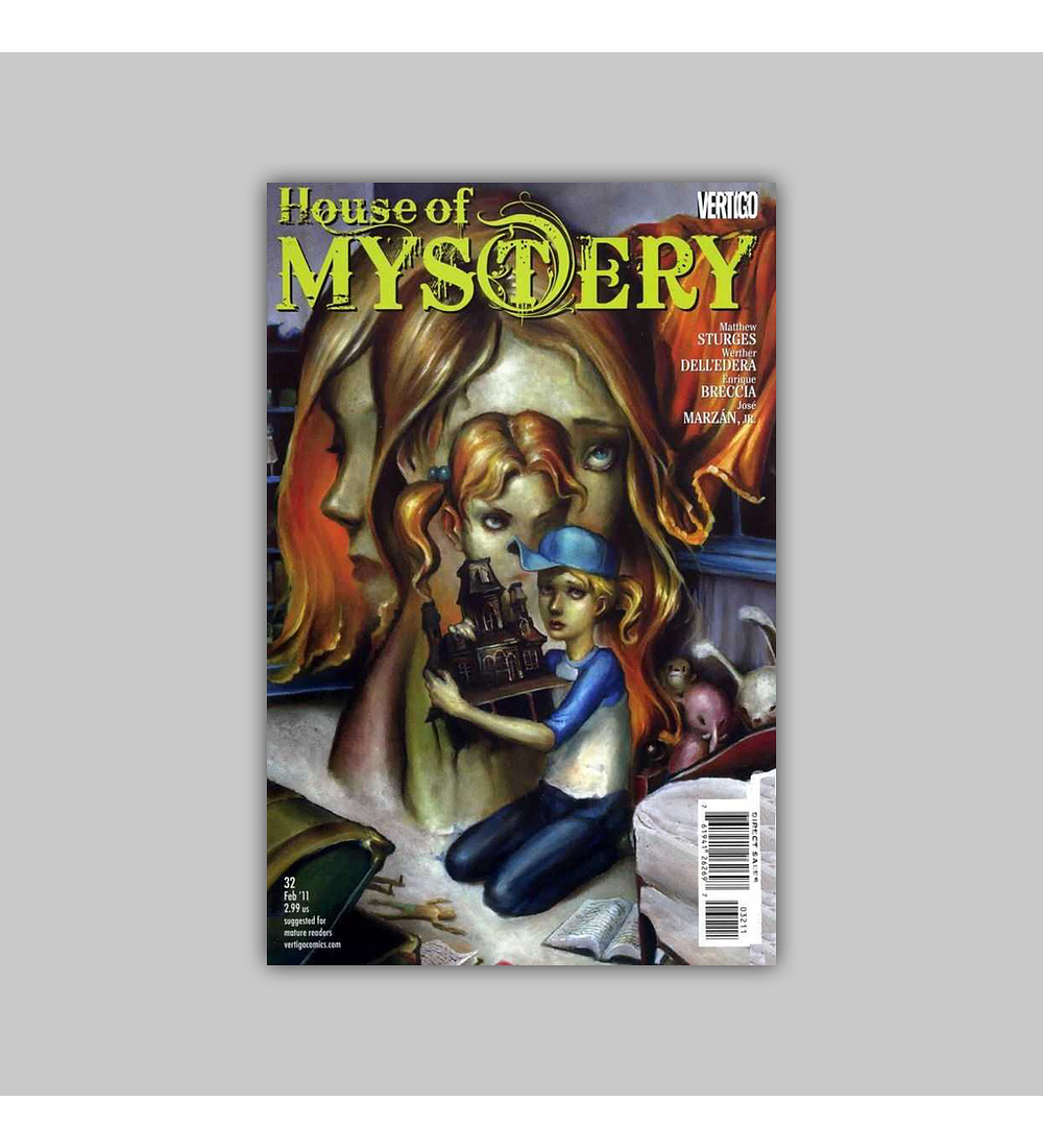 House of Mystery 32 2011
