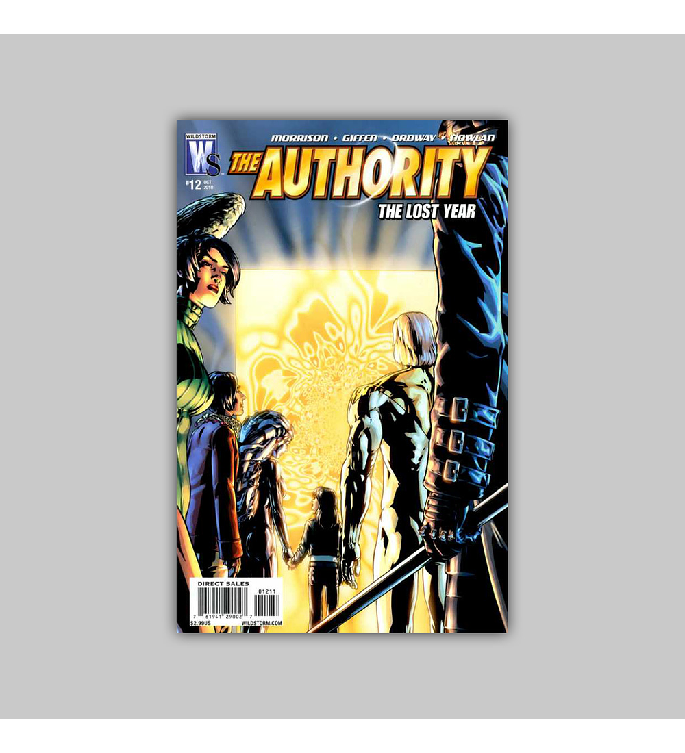 Authority: The Lost Year 12 2010