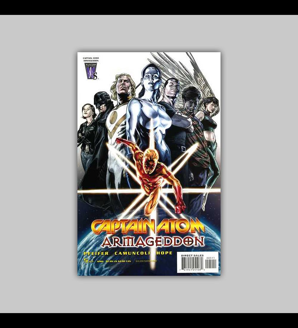 Captain Atom: Armageddon 5 2006
